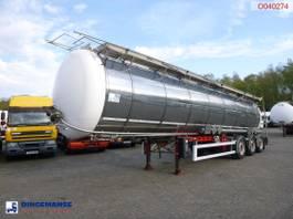 Tankauflieger LAG Food / chemical tank inox 34.6 m3 / 2 comp + pump 2010