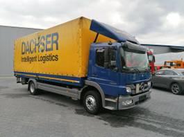 tilt truck Mercedes-Benz Atego 1224 - Plane Spriegel- Euro 5- LBW- KLIMA 2013
