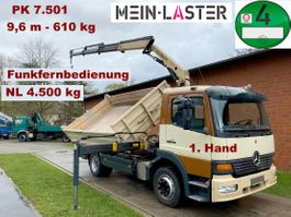 tipper truck > 7.5 t Mercedes-Benz 1223 3 S-Kipper PK 7501 - 9,6 m 650kg - Funk FB 2003