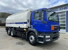 tank truck MAN 26.290 6x2 Euro 5 Tankwagen L&F 21.600 L 2013