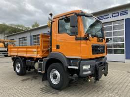 tipper truck > 7.5 t MAN TGM 13.250 4x4 Euro 5 Dreiseitenkipper Winterd. 2011