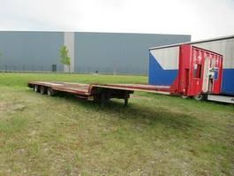 lowloader semi trailer Fliegl Tieflader mit Ausziehtisch SDS 320 2010
