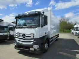 closed box truck Mercedes-Benz Antos 1833 L Koffer 7,30 m LBW 1,5 T*1. Liege 2017