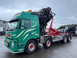 crane truck Volvo FM 400 8x2 FASSI F 560 AXP 2008