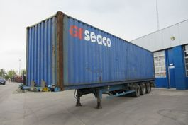 container chassis semi trailer ASCA Container Chassis + 40FT highcube / ROR + DRUM 2004