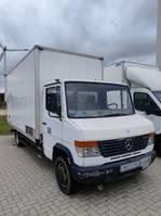 closed box truck Mercedes-Benz 614D 1999