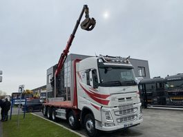 drop side truck Volvo FH 540 10X4 - ONLY 247.536 KM + PALFINGER EPSILON Q170Z96 2016