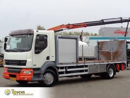 platform truck DAF LF 55 250 + Euro 5 + Manual + Lift + 16 ton 2009