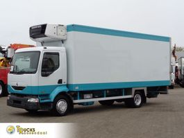 refrigerated truck Renault Midlum 180 DCI + Dhollandia Lift + Carrier Supra 750 Mt 2005