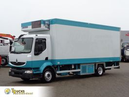 refrigerated truck Renault Midlum 190 DCI + Dhollandia Lift + FRIGOBLOCK 2008