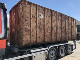 Open Top Versandcontainer Vossebelt 45M3 container