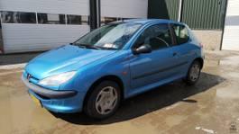 hatchback car Peugeot 206 XR 1.4i 1999