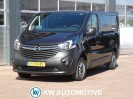 closed lcv Opel Vivaro 1.6 CDTI L1H1 Edition AIRCO/ NAVI/ CRUISE/ PARKEERSENSOR/ ELEK-RAMEN/ ET... 2017