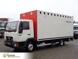 horse truck MAN L2000 9.153 + Euro 2 + Manual + Horse transport + INTERLIFT 1996