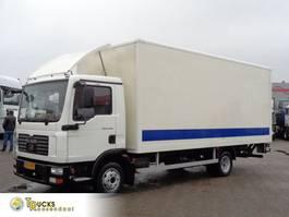 closed box truck MAN TGL 8 + Manual + Palfinger Lift 2007
