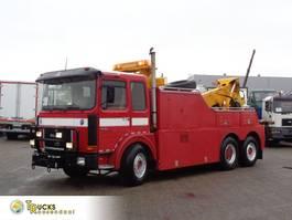 Autotransporter Lastkraftwagen MAN 26.321 Manual + Pto + Wilhag carlift + Depannage 1983