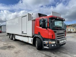 refrigerated truck Scania P360 6X2*4, Euro 5, Carrier Supra 950 (2-zone), 2010