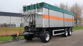 tipper trailer Bulthuis Kipper 3 asser Aluminium 40 m3 kuub 2005
