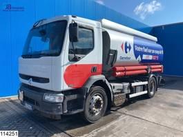 tank truck Renault Premium 270 Fuel, 14215 Liter, 4 Compartments, Manual 2006