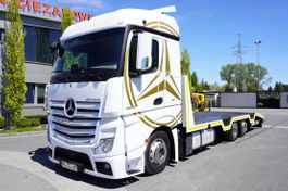 tow-recovery truck Mercedes-Benz Actros 2542 , E6 , 6X2 , MEGA , NEW BODY 8,6m , steer axle ,winc 2016