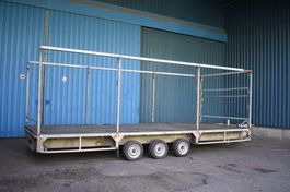 flatbed car trailer Plateau Aanhangwagen 3500kg 1999