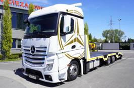 car transporter truck Mercedes-Benz Actros 2542 , E6 , 6X2 , MEGA , steer / lift axle , , NEW BODY 2016