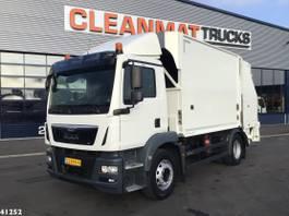 garbage truck MAN TGM 18 29 Euro 6 2016