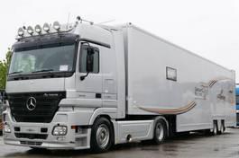 car transporter truck Mercedes-Benz Actros 1848 Renntransporter Racing Lift kpl. Zug 2006