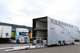 Autotransporter Auflieger Montracon V2A-SG Renntransporter Racing Lift 2003