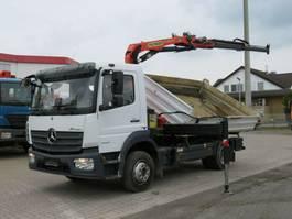 tipper truck > 7.5 t Mercedes-Benz Atego 1223 K 2-Achs Kipper Kran Palf. PK 8501 2016