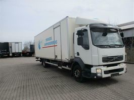 closed box truck Volvo FL240 2011