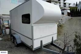 closed lcv Brenderup Box trailer 1991