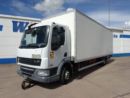 closed box truck DAF LF 45 - 180 L - EEV - MOTOR DEFECT