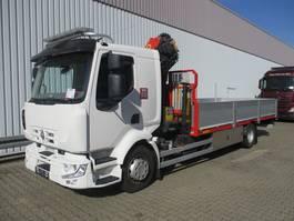 crane truck Renault Midlum 220 DXi 4x2 Midlum 220 DXi 4x2 mit Kran Palfinger PK 11001 2009