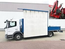 crane truck Mercedes-Benz Atego 1224 L 4x2 Atego 1224 L 4x2 Glastransporter, gegen Aufpreis Heckkran Fassi F9... 2013