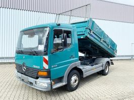 tipper truck > 7.5 t Mercedes-Benz Atego 815 4x2 Atego 815 4x2 Standheizung 2003