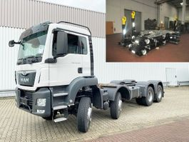 Container-LKW MAN TGS 35 BB 8x6 TGS 35.400 BB 8x6 Standheizung