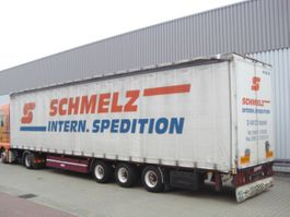 flatbed semi trailer Meusburger SAnh MPS-3 MEUSBURGER MPS-3, 2x VORHANDEN! 1999