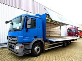 closed box truck Mercedes-Benz Actros 2541 L 6x2 Actros 2541 L 6x2 Getränkekoffer mit LBW Dautel 2010