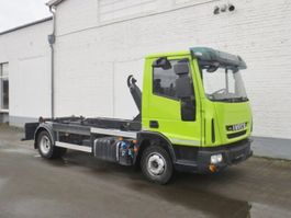container truck Iveco EuroCargo ML 100 E 21 Eurocargo ML 100 E 21, Unilift Citylift 6 to, bis 4,5 m Beh. mö... 2015