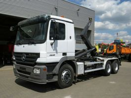container truck Mercedes-Benz Actros 2641 /6x4 Actros 2641/6x4/42,Meiller RK 2007