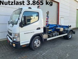 container truck Mitsubishi Canter Fuso 7C15 4x2 Canter Fuso 7C15 City Abrollkipper 2014