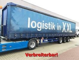 flatbed semi trailer Meusburger MPS-3 MPS-3 Coilmulde/Edscha-Verdeck ca. 88m³, 2006