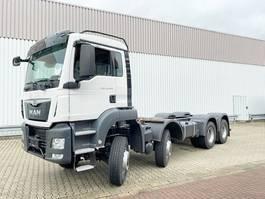 Fahrgestell LKW MAN TGS 35 8x6 BB TGS 35.400 8x6 BB Standheizung