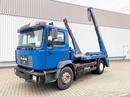 container truck MAN 18.284 4x2 BB 18.284 4x2 BB Tele-Absetzer eFH. 1999