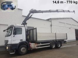 crane truck Mercedes-Benz Actros 2641 /6x4/45 Actros 2641/6x4/45, Effer Kran 175-5 S, 14,6m-770kg hydr, Funk, ... 2008