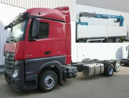 crane truck Mercedes-Benz Actros 2545 L 6x2 Actros 2545 L 6x2 mit Kran, Retarder