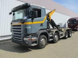 container truck Scania R420 CB8x4MNZ R420 CB8x4MNZ, Retarder Klima/R-CD 2005