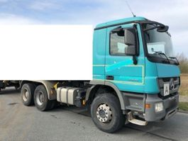 chassis cab truck Mercedes-Benz Actros 2641 K 6x4 MPIII Actros 2641 K 6x4 MPIII 2013