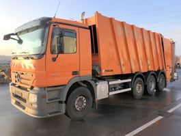 garbage truck Mercedes-Benz Actros 3241 L 8x2 Actros 3241 L 8x2, Retarder, 2x Lenkachse, FAUN Powerpress 2009